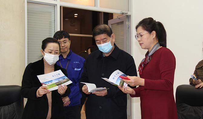 黑龙江省政府妇女儿童发展规划评估督导组走访友搏药业