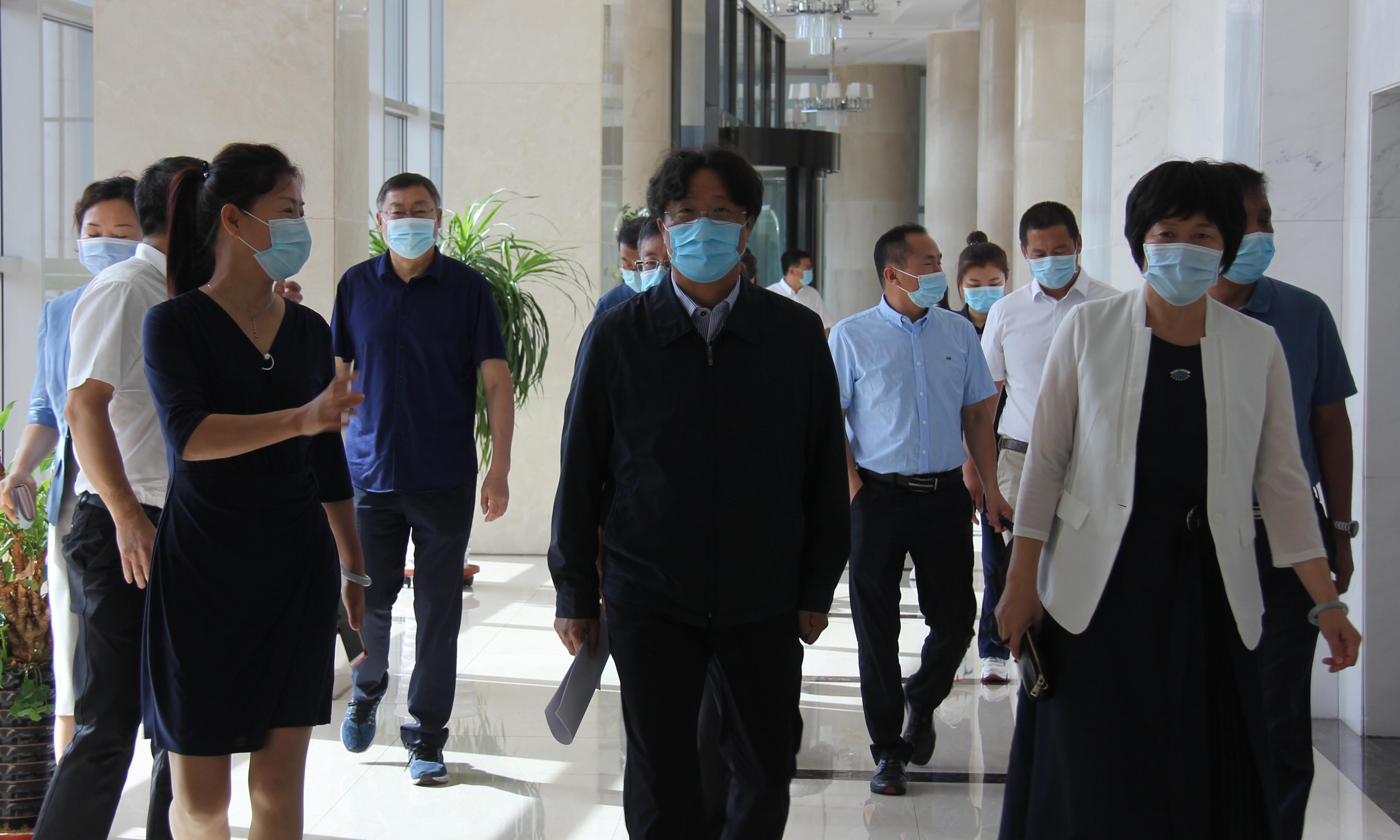 黑龙江省中医药发展工作调研组走访友搏药业