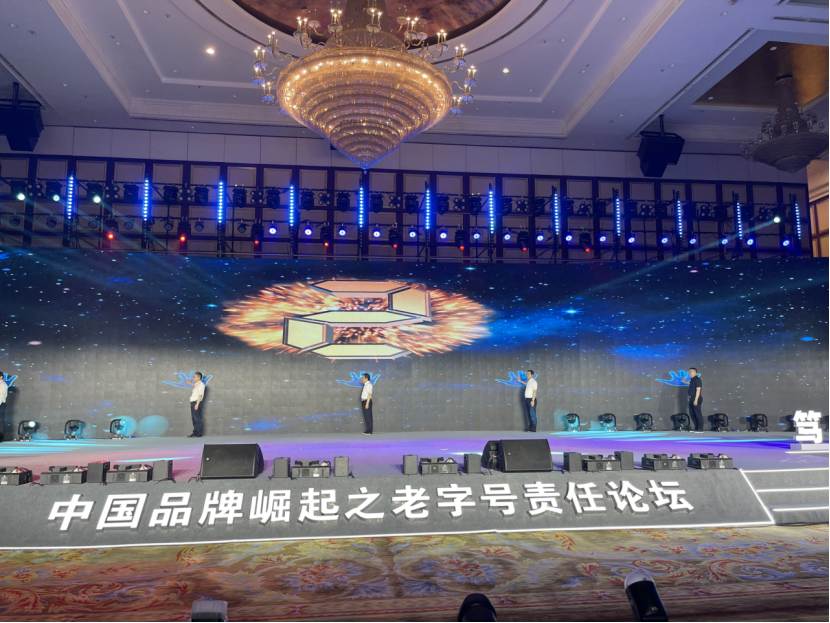 恪守正道 笃行致远 —— 九芝堂应邀参加中国品牌崛起之老字号责任论坛