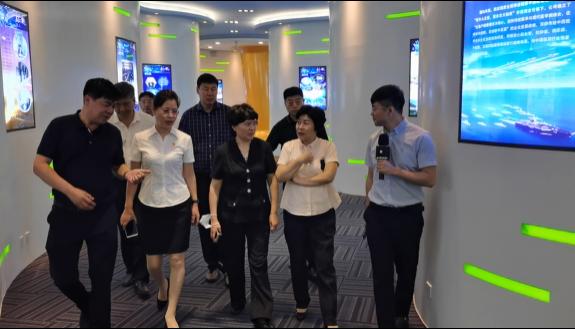 黑龙江省工商联主席张海华走访友搏药业